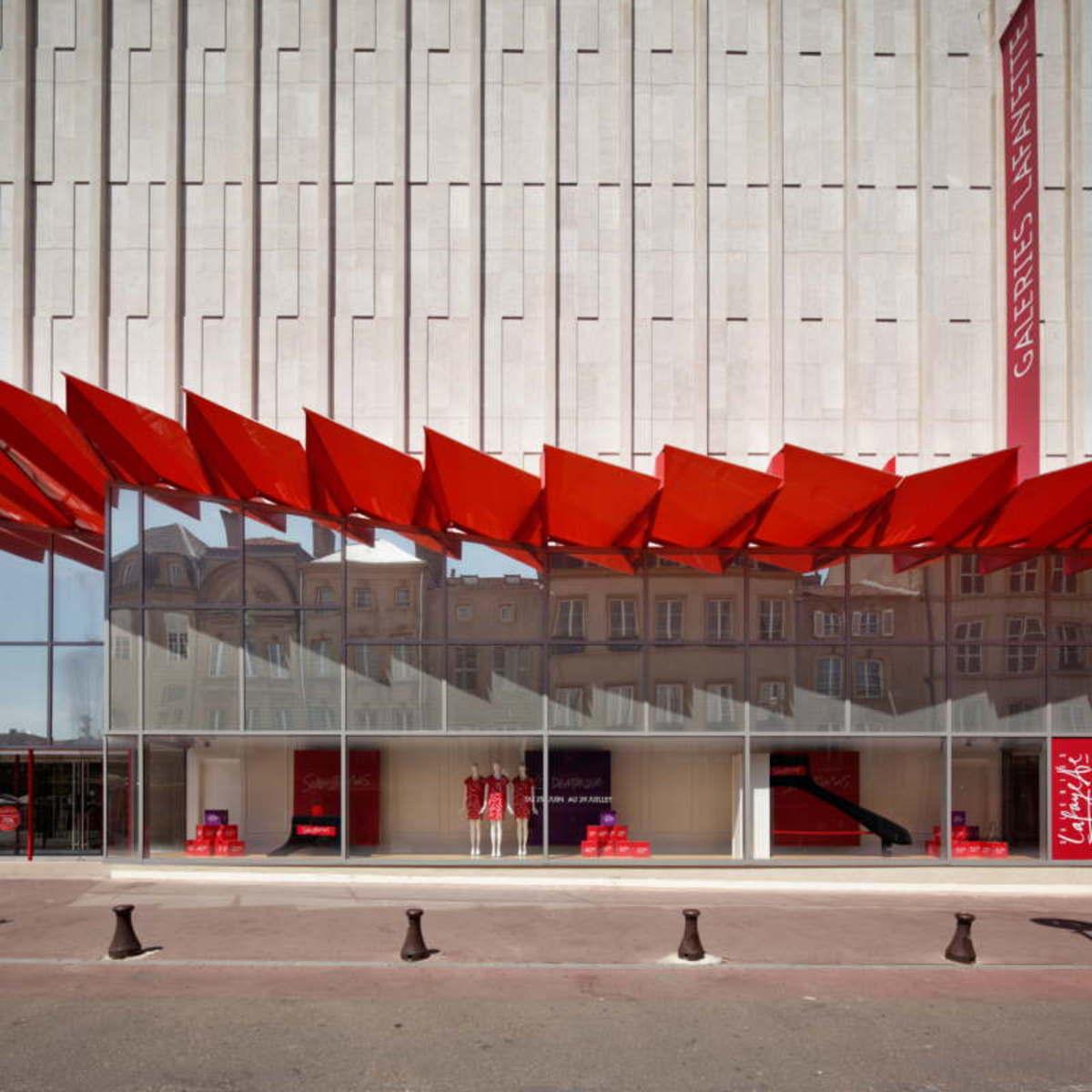 Flooring Stores In Lafayette La: Manuelle Gautrand: Nueva Fachada De Las Galeries Lafayette