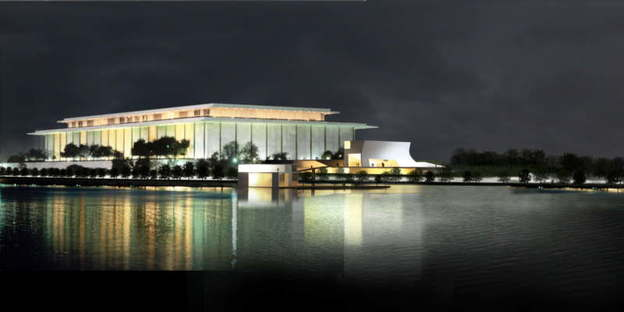 Se han iniciado las obras para la ampliación del John F. Kennedy Center for the Performing Arts