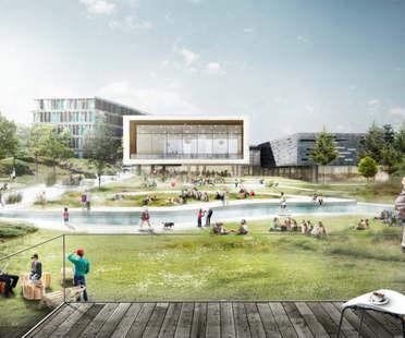 El proyecto de C.F.Møller gana el concurso para la ampliación del CBS