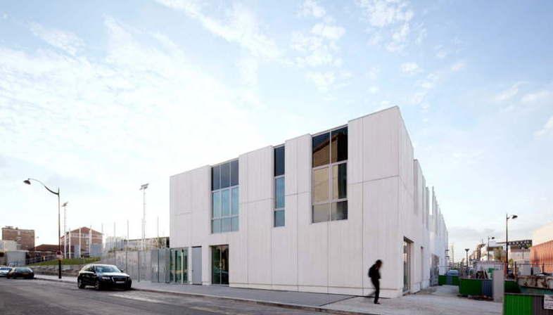 Scape - Edificio multifuncional en la rue Paul Meurice, en París