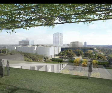 Steven Holl y Lake Flato Architects  para el Museum of Fine Arts Houston