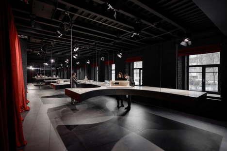 Metrogramma SuperSurfaceSpace Iris Gallery for Contemporary Design, Moscú