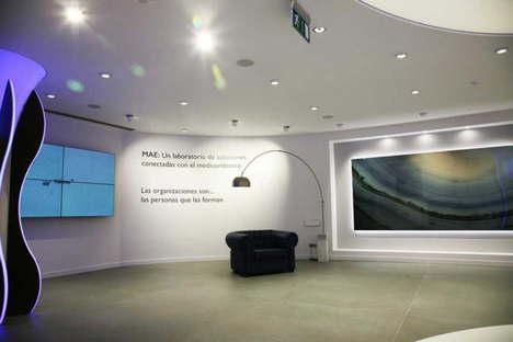 Inauguración de M.A.E, Sala de Exposición Matimex, en España