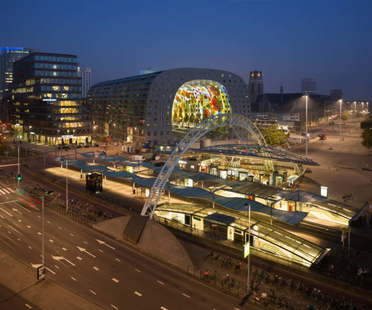 Mvrdv Markthal Rotterdam Best Shopping Centre en los Mipim Awards 2015