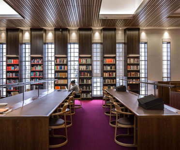 Wilkinson Eyre Architects Inaugurada la Weston Library de la Universidad de Oxford