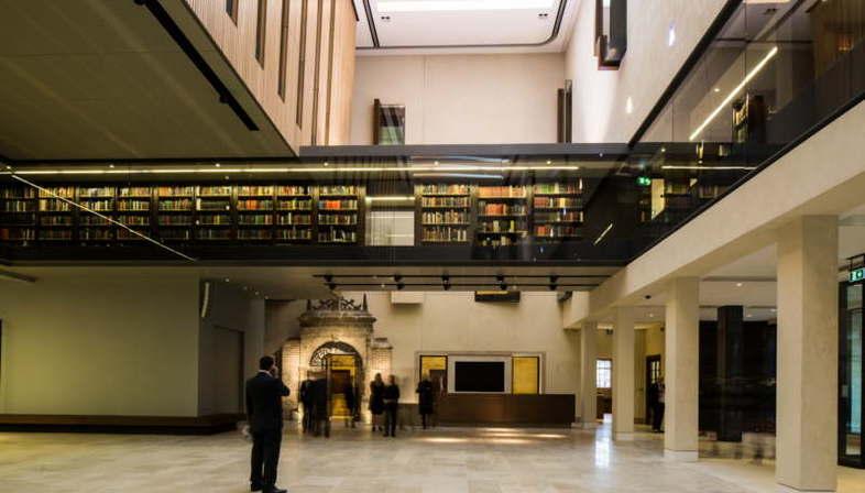 Wilkinson Eyre Architects Inaugurada la Weston Library de la Universidad de Oxford