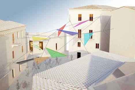 Alvisi Kirimoto + Partners: Piazza Faber, Tempio Pausania, Cerdeña