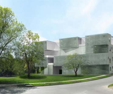 Steven Holl Architects: Arts Building, University of Iowa