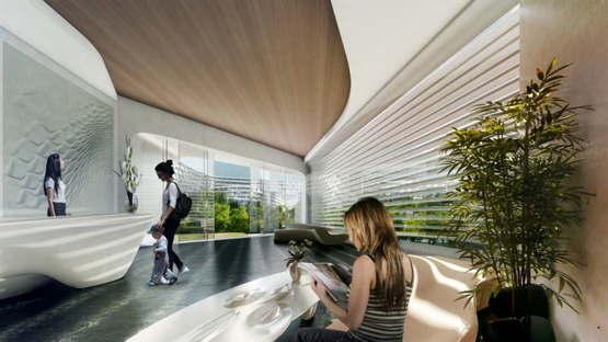 Zaha Hadid: Esfera City Center, Monterrey, México