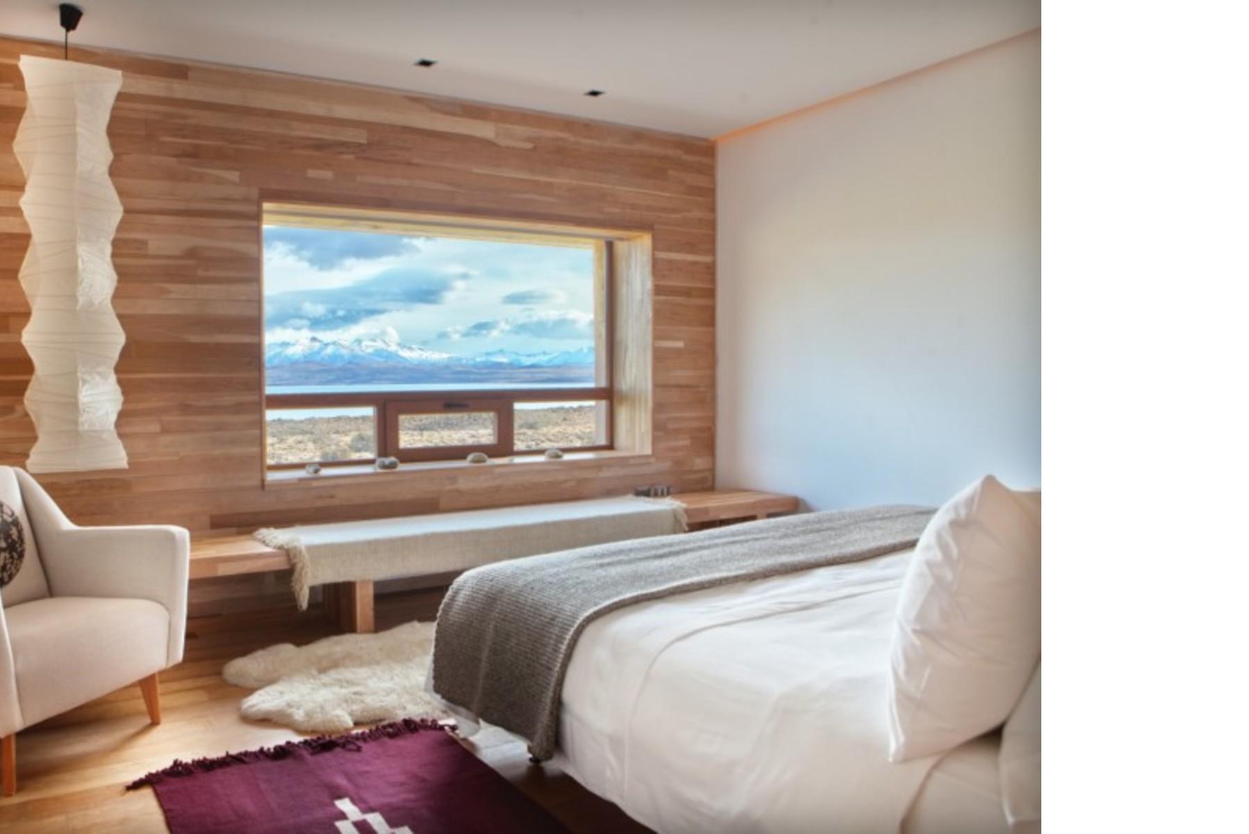 Cazú Zegers: Tierra Patagonia Hotel u Hotel del Viento, Chile