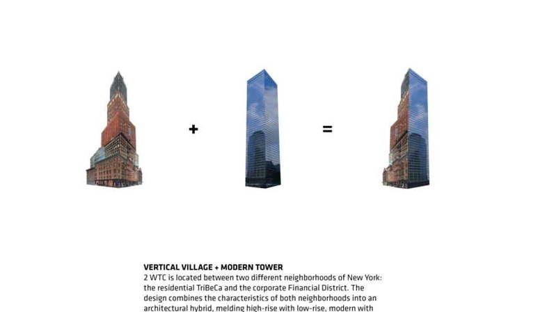 BIG presenta el proyecto del World Trade Center