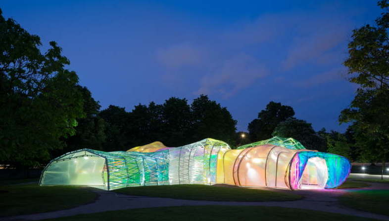 Selgascano: Serpentine Pavilion 2015, Londres