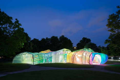 serpentine Pavilion 2015 designed by selgascano - Photo by Iwan Baan