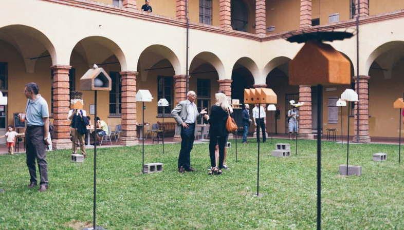 Exposición proyecto Migrant Garden Untouchable Landscapes Politécnico de Milán