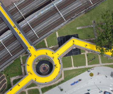 ZUS The Luchtsingel Róterdam primera infraestructura crowdfunding