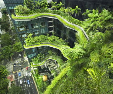 Woha PARKROYAL on Pickering de Singapur gana el CTBUH Urban Habitat Award 2015
