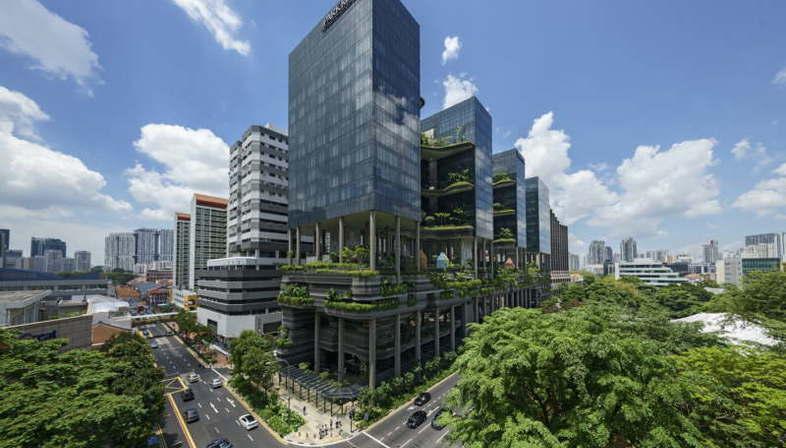 Woha PARKROYAL on Pickering de Singapur gana el CTBUH Urban Habitat Award 2015