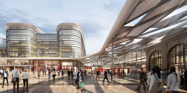 El proyecto de Foster + Partners se adjudica el concurso del Cardiff Interchange