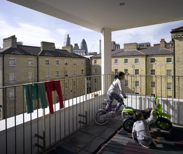 Niall McLaughlin Architects Darbishire Place Peabody Housing, Londres