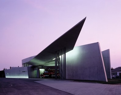 Vitra Fire Station photo by Christian Richters