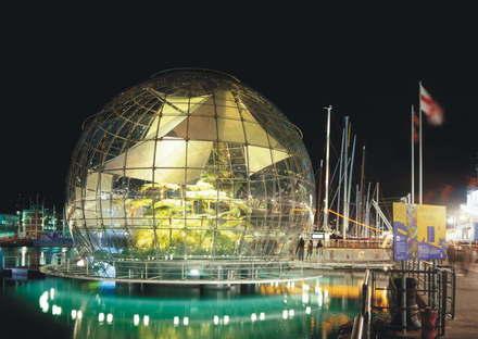 Exposición Renzo Piano Building Workshop Proyectos de Agua Pegli Génova