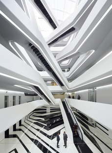 Zaha Hadid Architects Dominion Office Building Moscú
