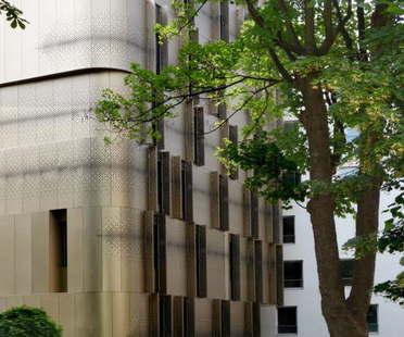 VIB Architecture residencia de estudiantes y guardería rue Ménilmontant París