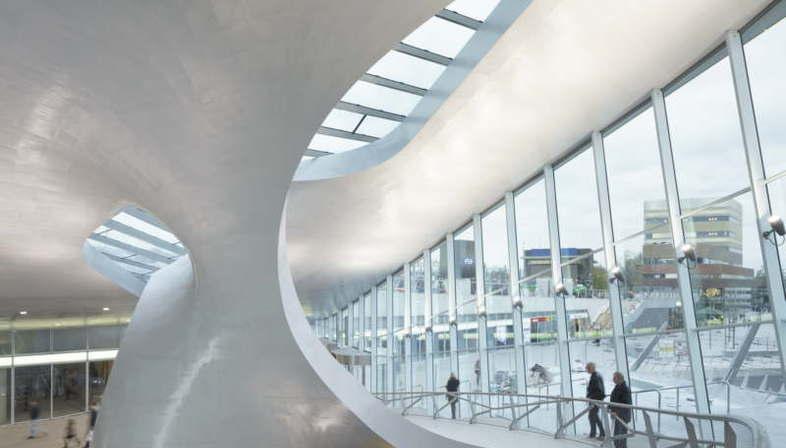 UNStudio Transfer Terminal Arnhem Central Station