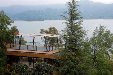 Cazú Zegers Casa T Laguna de Aculeo Chile