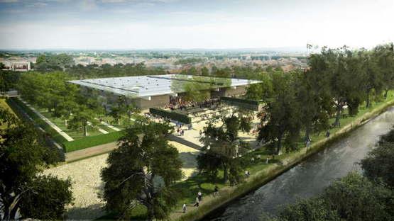 Empiezan las obras de construcción del museo MuRéNA, proyectado por Foster + Partners