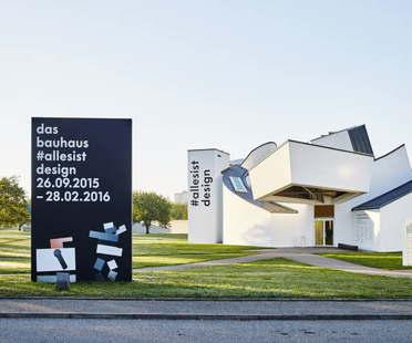 Exposición Vitra Design Museum The Bauhaus #itsalldesign