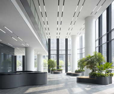 gmp Dayuan International Center en Chengdu, China