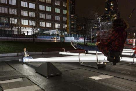 Luminotherapie Impulsion instalación luminosa sonora Montreal