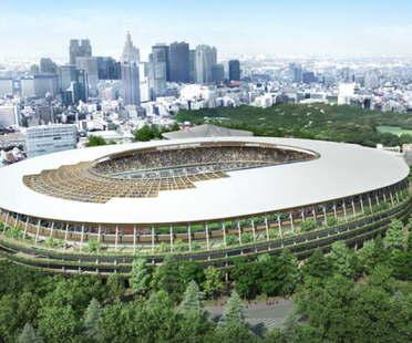 Kengo Kuma proyecta el Estadio Olímpico Tokio y sustituye a Zaha Hadid