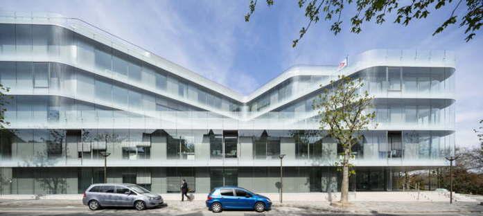 Atelier Zündel Cristea sede social de Pacemar en Suresnes París