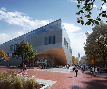 Snøhetta Proyecto Biblioteca de la Temple University de Philadelphia