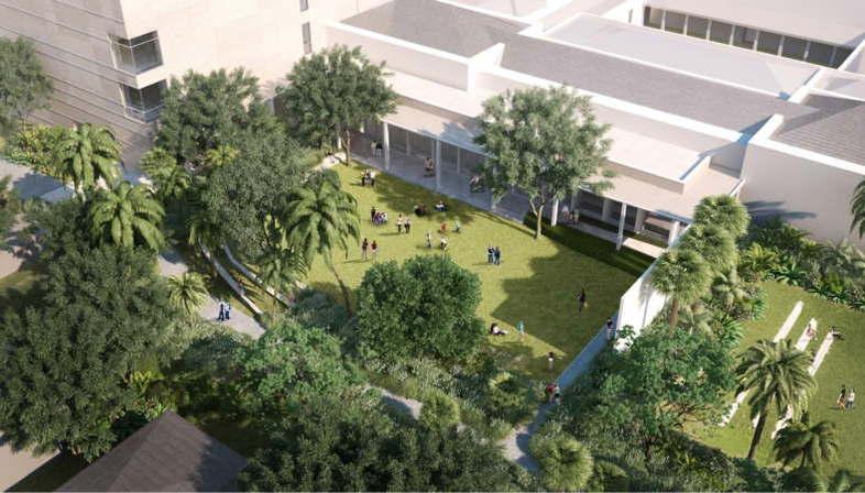 Foster + Partners Empezaron los trabajos en el Norton Museum of Art, Florida
