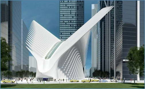 Calatrava, The Oculus World Trade Center Transportation Hub