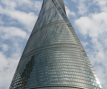 La Shanghai Tower edificio más alto de China