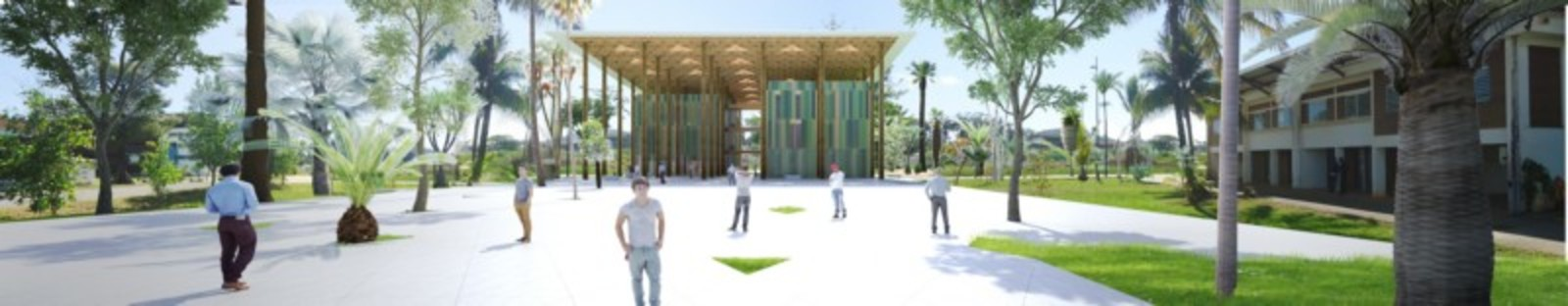 Cardete Huet Centro Administrativo Campus Universitario Cayena