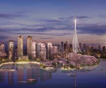 Santiago Calatrava The Tower Dubai Creek Harbour