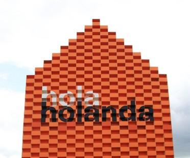 MVRDV Hola Holanda pabellón FILBO Bogotá 2016