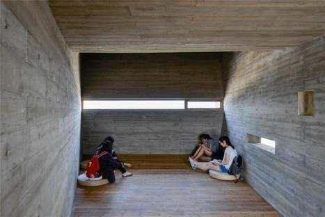 Vector Architects Seashore Library biblioteca sobre el océano