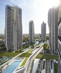 Zaha Hadid Architects d'Leedon Singapore photo by Hufton+Crow