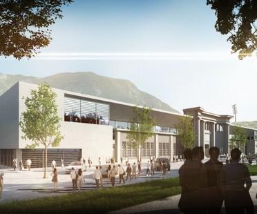 gmp ampliación estadio Druso Bolzano