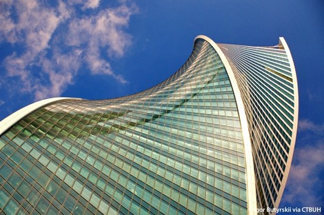 RMJM Evolution Tower Moscú