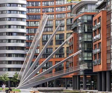 Knight Architects Puente Peatonal Merchant Square Bridge Londres