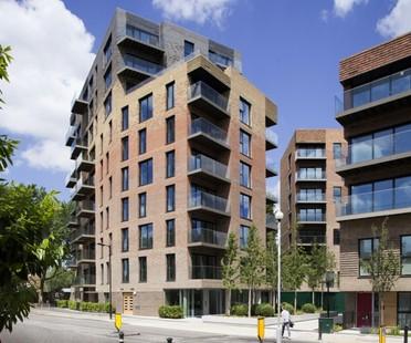 dRMM Architects Complejo Residencial Trafalgar Place Londres
