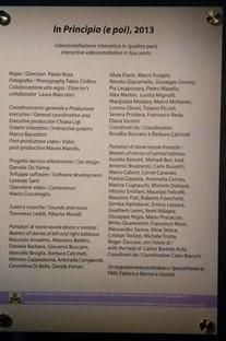 Studio Azzurro In Principio (e poi)en los Museos Vaticanos