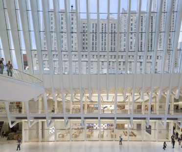 Bohlin Cywinski Jackson Apple Store en el World Trade Center Oculus